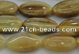 CTE1533 15.5 inches 11*18mm marquise golden tiger eye beads