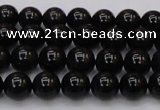 CTE1610 15.5 inches 4mm round A grade black tiger eye beads