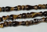 CTE168 15.5 inches 6*28mm yellow tiger eye gemstone beads