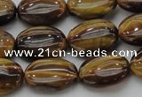 CTE1715 15.5 inches 12*16mm oval yellow tiger eye beads wholesale