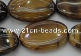CTE1719 15.5 inches 20*30mm oval yellow tiger eye beads wholesale