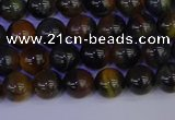 CTE1801 15.5 inches 6mm round blue iron tiger beads wholesale