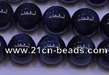 CTE1853 15.5 inches 10mm round blue tiger eye beads wholesale