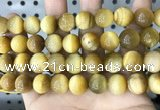 CTE2012 15.5 inches 14mm round golden tiger eye beads wholesale