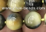 CTE2019 15.5 inches 14mm round golden & blue tiger eye beads wholesale