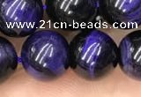 CTE2025 15.5 inches 12mm round purple tiger eye beads wholesale