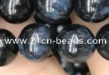 CTE2032 15.5 inches 12mm round blue tiger eye gemstone beads