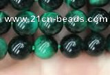 CTE2050 15.5 inches 4mm round green tiger eye beads wholesale