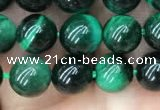 CTE2051 15.5 inches 6mm round green tiger eye beads wholesale