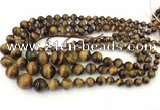 CTE2078 15.5 inches 6mm - 16mm round yellow tiger eye graduated beads