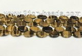 CTE2131 15.5 inches 13*18mm oval yellow tiger eye beads