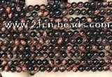 CTE2168 15.5 inches 4mm round red tiger eye beads wholesale