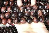 CTE2175 15.5 inches 18mm round red tiger eye beads wholesale