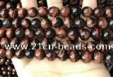 CTE2183 15.5 inches 10mm round red tiger eye gemstone beads