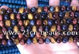 CTE2211 15.5 inches 8mm round colorful tiger eye beads wholesale