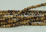 CTG117 15.5 inches 2mm round tiny leopard skin jasper beads wholesale