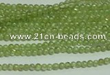 CTG119 15.5 inches 2mm round tiny peridot gemstone beads wholesale