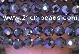 CTG1196 15.5 inches 3mm faceted round tiny terahertz gemstone beads