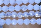 CTG1442 15.5 inches 2mm faceted round blue lace agate beads