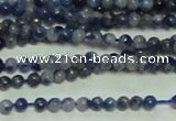 CTG145 15.5 inches 3mm round tiny sodalite gemstone beads wholesale