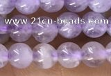 CTG1585 15.5 inches 4mm round lavender amethyst beads wholesale