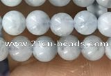 CTG1592 15.5 inches 4mm round aquamarine gemstone beads wholesale
