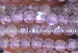 CTG1619 15.5 inches 3mm faceted round tiny labradorite beads