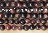 CTG2033 15 inches 2mm,3mm red tiger eye beads