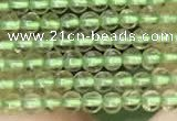 CTG2068 15 inches 2mm,3mm natural olive quartz gemstone beads