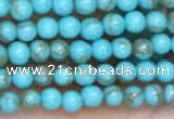 CTG2084 15 inches 2mm,3mm synthetic turquoise gemstone beads