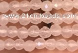 CTG2227 15 inches 2mm,3mm faceted round candy jade beads