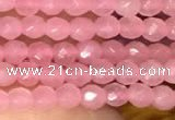CTG2228 15 inches 2mm,3mm faceted round candy jade beads