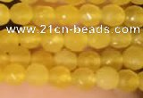 CTG2229 15 inches 2mm,3mm faceted round candy jade beads