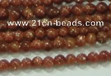 CTG40 15.5 inches 2mm round tiny goldstone beads wholesale