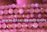 CTG736 15.5 inches 2mm faceted round tiny sunstone beads
