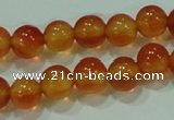 CTG78 15.5 inches 3mm round tiny red agate beads wholesale
