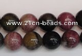 CTO360 15.5 inches 12mm round natural tourmaline gemstone beads