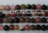CTO450 15.5 inches 3mm round natural tourmaline gemstone beads