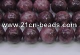 CTO603 15.5 inches 10mm round Chinese tourmaline beads wholesale