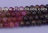 CTO621 15.5 inches 5mm round tourmaline gemstone beads wholesale