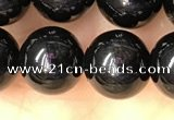 CTO703 15.5 inches 10mm round black tourmaline beads wholesale