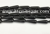 CTR435 15.5 inches 10*30mm teardrop agate beads wholesale