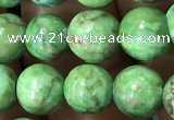 CTU3032 15.5 inches 8mm round South African turquoise beads