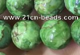CTU3034 15.5 inches 12mm round South African turquoise beads