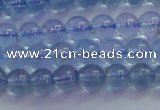 CTZ02 15.5 inches 6mm round natural topaz gemstone beads