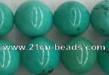 CWB866 15.5 inches 10mm round howlite turquoise beads wholesale