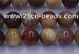 CWJ432 15.5 inches 8mm round wood jasper beads wholesale